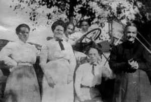 Katherine Miller, Janet Lewis, Elizabeth Miller, Alice Jenkins, Aredes Reese, Catherine Lewis - Moses Family History