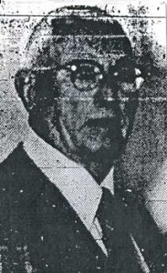 Evan J. (XVII) Moses in his obituary photograph