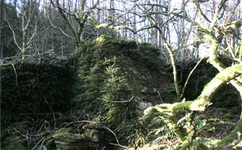 Hendre rhys Farm Llanwynno foundations