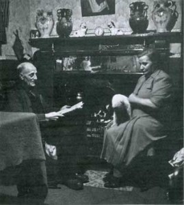 Gwilym Thomas Moses and missus Clara Moses (nee Monks)