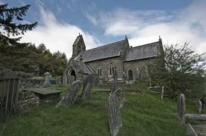 St Gwynnos church Llanwynno