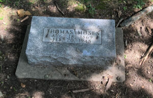 Thomas Moses Memorial